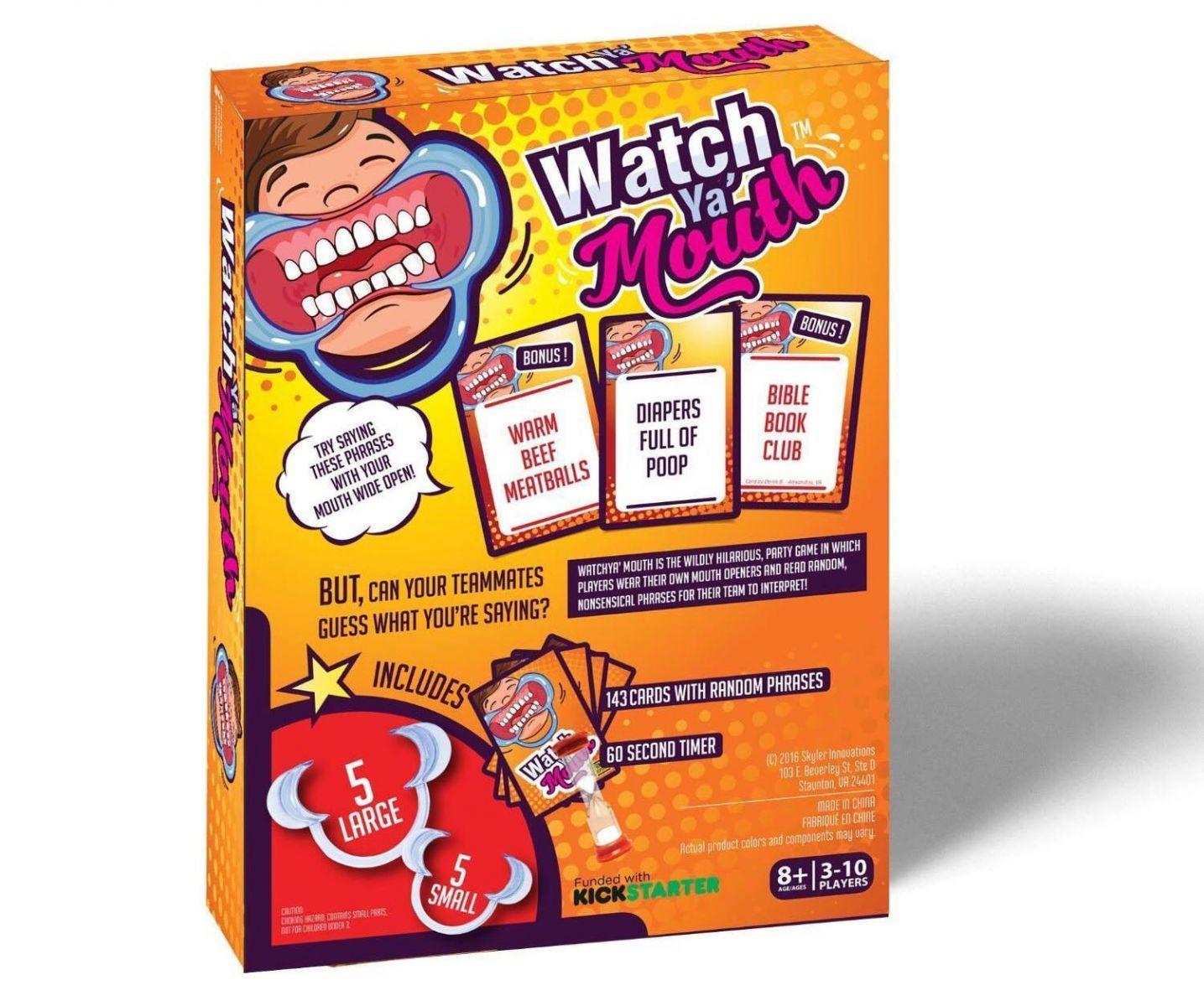 ... Watch Ya Mouth Permainan Kartu Tebak Kata. Source · Package Content
