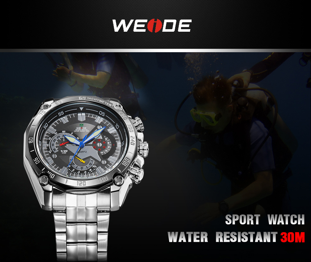 Weide Jam Tangan Analod DIgital - WH1011