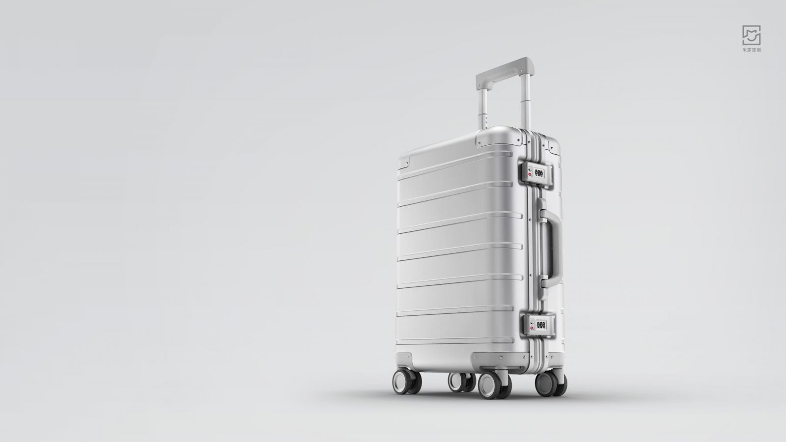 Xiaomi 90 Points Metal Suitcase Koper Travel 20 Inches