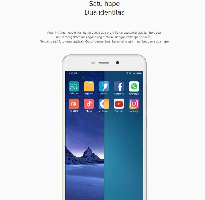 Xiaomi Redmi 4a 2gb 32gb Gray Jakartanotebook Com