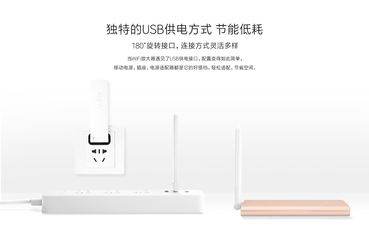 Xiaomi Wifi Usb Amplify Range Extender 2 White Mi Amplifier Repeater 300mbps Original Product Showcase