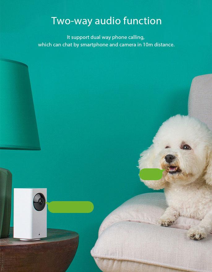 Xiaomi Yi Xiaofang Dafang Smart IP Camera CCTV 1080P - White