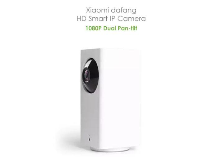 Kamera Xiaomi Dafang ini dibekali fitur pan tilt yang memungkinkan Anda dapat mengoperasikan gerakan kamera sesuka hati dengan resolusi full HD.