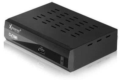 Xtreamer Set Top Box Dvb T2 Bien And Media Player Black