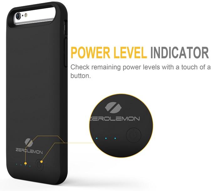 meet 5ec1d 971ac ZeroLemon Slim Juicer iPhone 6 Plus Battery Charging Case 4000mAh ...
