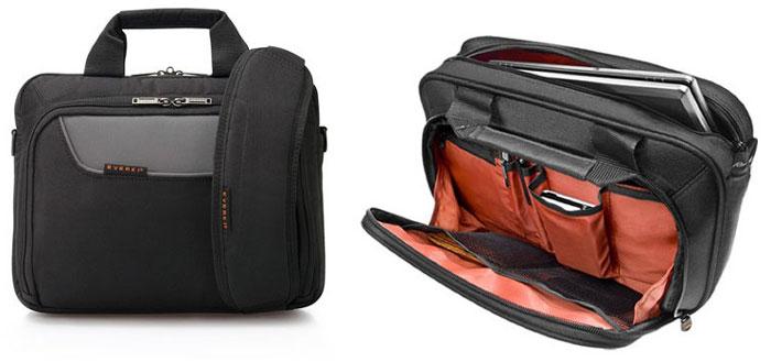 Everki EKB407NCH14 - Advance Netbook Case - Briefcase