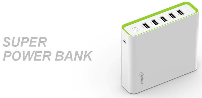 Hame H18 Power Bank 5 Output 20000mAh
