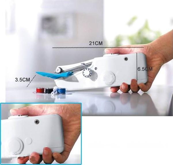 Mesin jahit ini berbentuk sangat kecil dan sangat fleksibel dibawa kemanapun dan sangat praktis. Sangat cocok bagi Anda yang gemar menjahit untuk melakukan ...