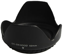 52mm Lens Hood for Cameras (Screw Mount)