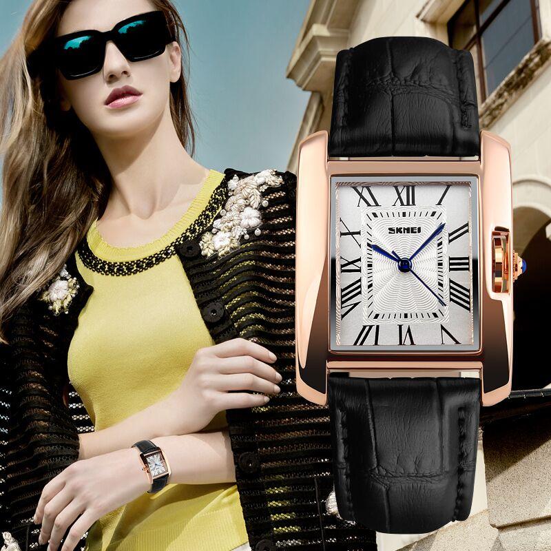 SKMEI Jam Tangan Fashion Wanita - 1085CL - Red - JakartaNotebook.com 6971ca465e
