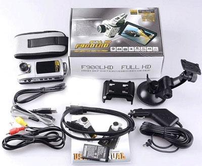 Car DVR Camcorder Car Black Box Car HD DVR 1080P Model F900LHD