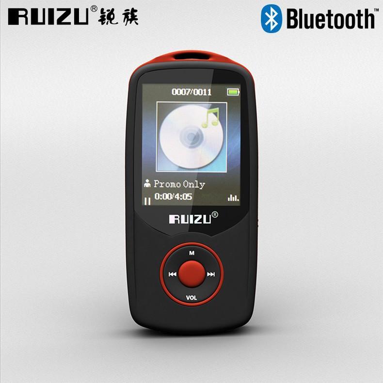 Ruizu X06 Bluetooth HiFi DAP MP3 Player 4GB - Red cc771f38de