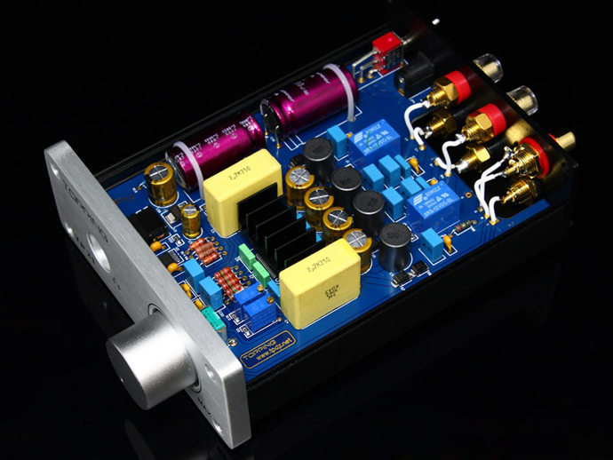 Topping TP21 Class-T Digital Amplifier Tripath TA2021 with