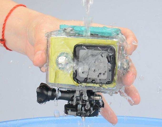 Case Waterproof IPX68 40m Untuk Xiaomi Yi Sports Camera