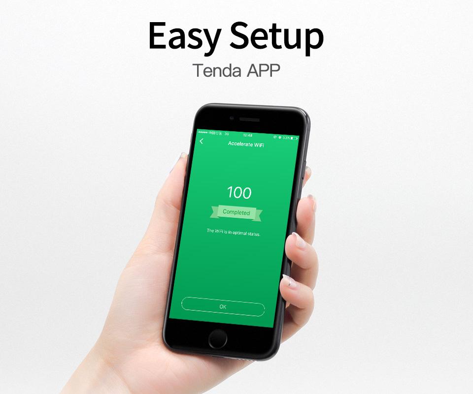 TENDA AC1200 Smart Dual Band WiFi Router