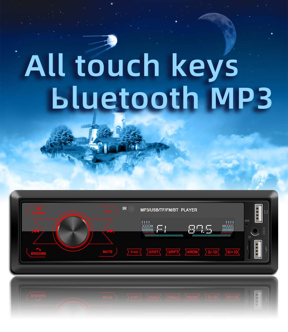 AUDEW Tape Audio Mobil MP3 Media Player Touch Screen FM