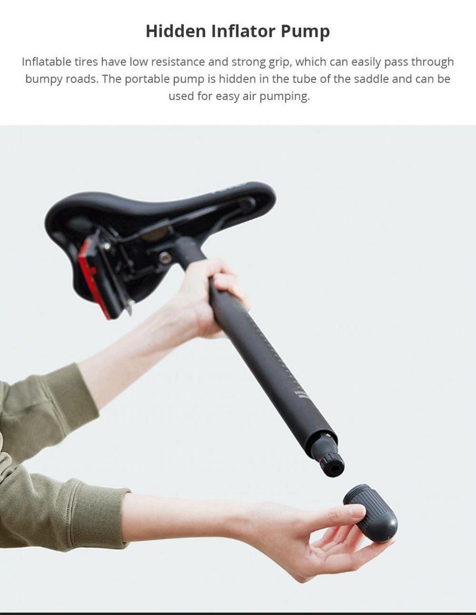 Xiaomi HIMO Z20 Sepeda Lipat Elektrik Smart Moped Bicycle