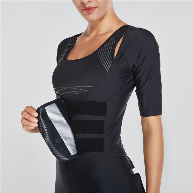 Vansydical Rompi Korset Pelangsing Hot Shaper Push Up Slimming Vest - Size M - Black ...