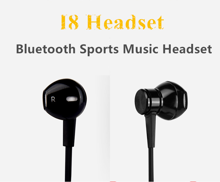 Earphone Bluetooth dengan Neckband