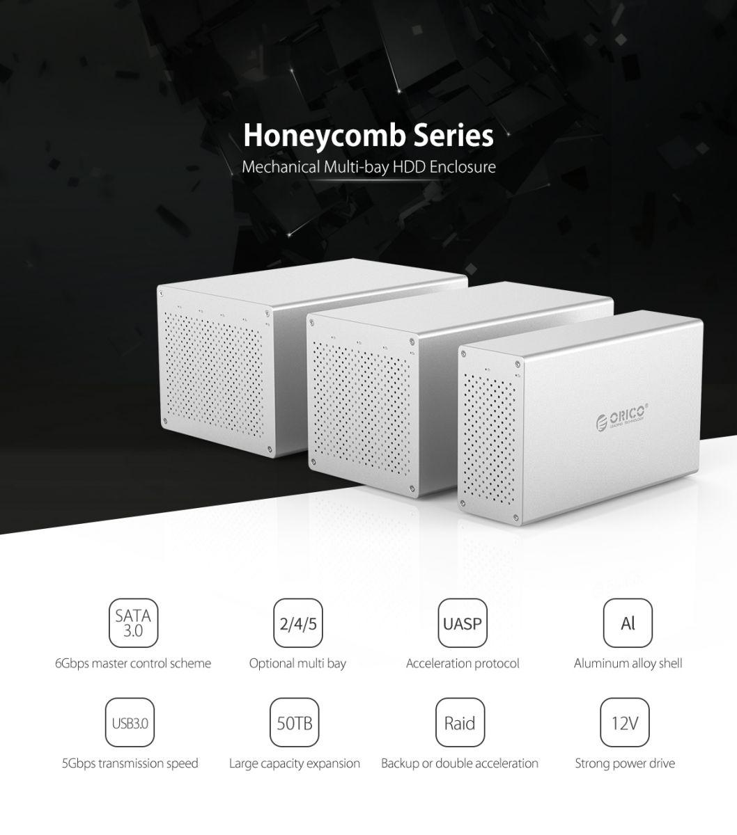 Orico Honeycomb Docking Hdd 35 Inch 2 Bay Usb 30 Ws200u3 1bay Protection Case Ps35 5 Merupakan Harddisk Yang Dilengkapi Dengan Buah Slot Berukuran Kapasitas Maksimal Hingga 20tb Dan Koneksi
