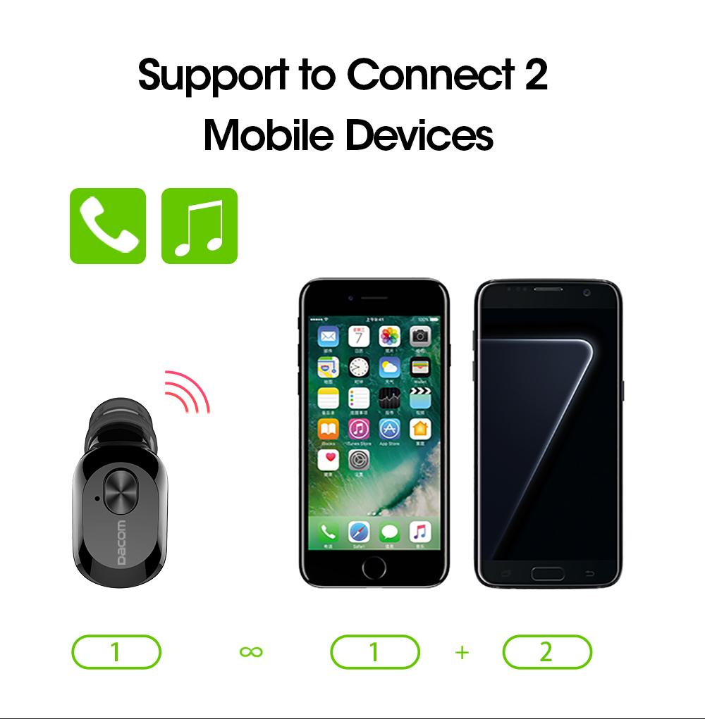 cc3571e6ca5 Earphone Bluetooth Dacom K6P sudah menggunakan chipset bluetooth v4.1  terbaru dan tercanggih. Dengan chipset ini koneksi ke smartphone menjadi  lebih cepat, ...