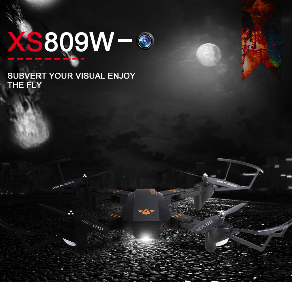 Visuo Quadcopter Drone Wifi Fpv With Vga Camera Xs809h W Jjrc H12w Dengan Kamera 2mp 720p Red Overview Of